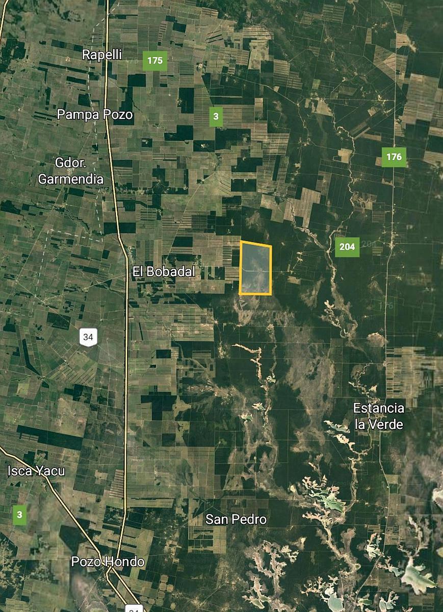 vendo 4300 hectáreas en el bobadal, sgo del estero