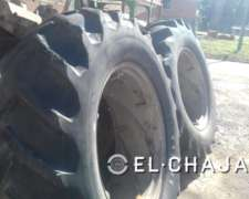 Cubierta Agricola para Tractor Marca Firestone 18.4.34.-