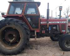 Tractor Massey 1215 con Duales Traseras. muy Bueno