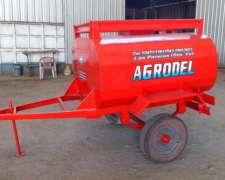 Acoplado Tanque De Combustible De 1500 Lts.