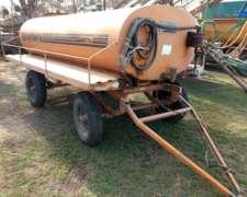 Cisterna Comofra 3000 Lts - Bomba - Barandas Laterales