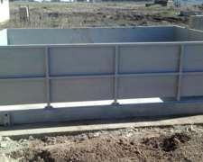 Bascula para Cerdos de Hormigón - 1500 Kg - Pesar