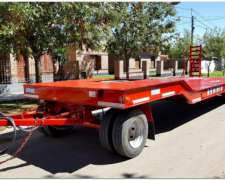 Carreton Homologado Para 10/12 Tn. De Capacidad (o4)(ho1007)