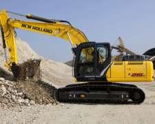 Excavadora New Holland E215c - Nueva