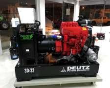 Grupo Electrogeno Generador Deutz 3d - 33 Kva.