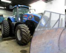 New Holland T8.355, con Piloto