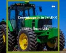 Tractor John Deere 6190j de 190 HP, con Cabina