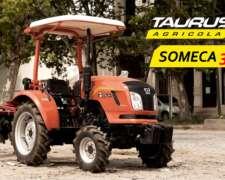 Tractor Someca 304 Tracción 4X4 Taurus Agrícola 30 HP