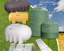 Tanques Plásticos Para Agua O Gas Oil Desde 190 A 30.000 Lts