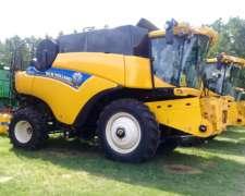 Cosechadora New Holland CR 6.80,nueva
