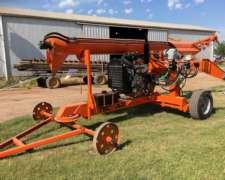 Extractora de Cereales Autonoma con Motor Jhon Deere