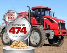 Fertilizadora Autopropulsada Fertec 618