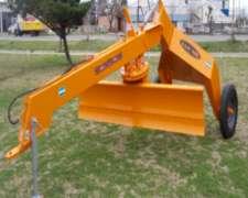 Niveladora Hidraulica de Arrastre - Metalbert