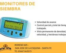 Monitor De Siembra Ff-25 Con Colocacion E Instalacion