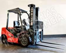 Autoelevador Heli 3000 Kg Nafta CPQD30 Nissan Series