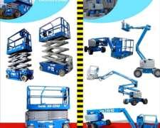 Plataformas Elevadoras, Brazos Articulados y Grúa 45 TN