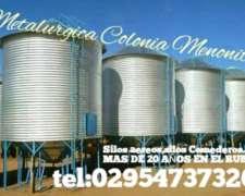 Silos Aereos Directo De Fabrica,chimangos,comederos.colonia