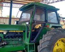 Tractor Jhon Deere 3550 Doble Traccion, 135 HP