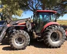 Tractor Case 110 Modelo JX DT con Pala Martin