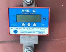 Dinamómetro Electrónico Ahs-ii 3000kgf