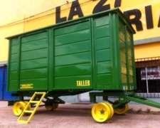 Acoplado Carro Taller 4 X 2 X 1.90 Lecar