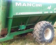 Tolva Autodescargable Mancini para 14 TN.