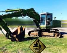 Excavadora Hydromac H145 Turbo Perkins Permuto Todo Vial