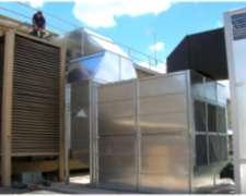 Horno Quema de Biomasa - Generador de Aire Caliente - Mega