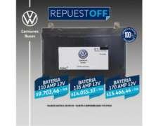Batería Volkswagen para Camiones de 110 AMP 12v - Truck NOA