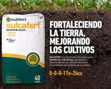 Sulcafer: Sulfato De Calcio Peletizado - Yeso Agricola +s+ca