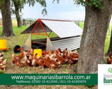Gallinero Movil Ibarrola P/175 Gallinas