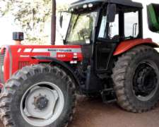 Tractor MF 297 DT C/cab A/A año 2005