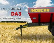 Desparramadora De Arena Y Fertilizantes - Indecar (5.000kg)