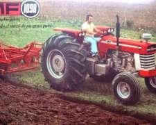Massey Ferguson 1098 - con Cabina - Vendido