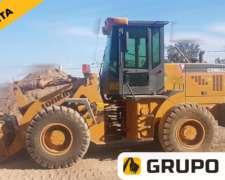 Cargadora Lonking CDM833 // 2012 // Grupo RYA