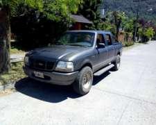 Ford Ranger XLT Mod 2003 - 4X4 - Doble Cabina - 2,8 L