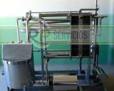 Pasteurizador de Leche Para Elaboración de Quesos