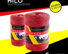 Hilo Electroplastico Premium 12 Hebras de Acero