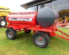 Tanque 1500 Lts + 750 Lts Agua, con 2 Ejes - Marca Marpla