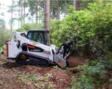 Triturador Forestal FAE Dml/ssl para Mini-cargadoras