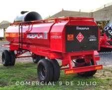 Tanque Acepla 5000 Lts. con Baulera Trasera - 9 de Julio