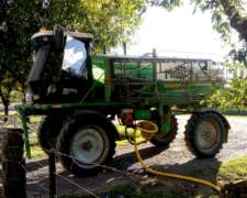 Pulverizadora Metalfor 2800, Botalón 22,5m, 9200hs, 2007