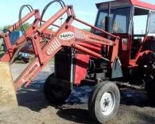 Tractor Massey Ferguson 1185 con Pala Kafu 1600