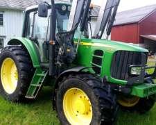 Tractor John Deere 6630 Premium del año 2007, 130 CV y 3800
