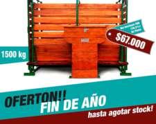 Balanza Para Hacienda De 1500kg