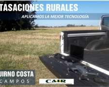 Brindamos Servicio de Tasaciones Rurales en Todo el País