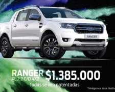 Liquidación Ford 0km - Ranger, KA y Fiesta