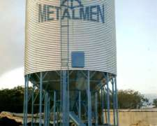 Silos Comederos 4 Tn $ 24.000 Iva Incl. Puesto En El Campo