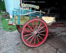 Carro o Jardinera para Desfile Fileteada