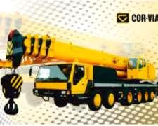 Grúa Sobre Camión CVQY100 Corvial